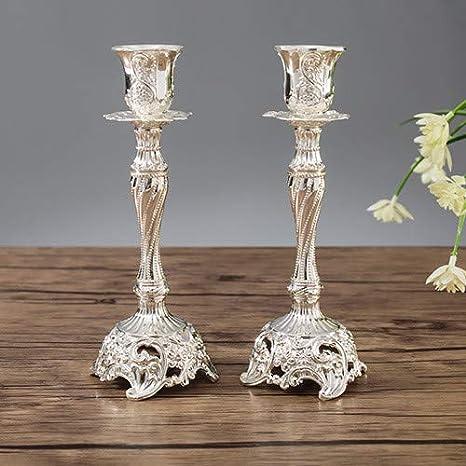 Prbll Ornamente 1 Para Goldsilber Farbe Hochzeitsgeschenk Metall