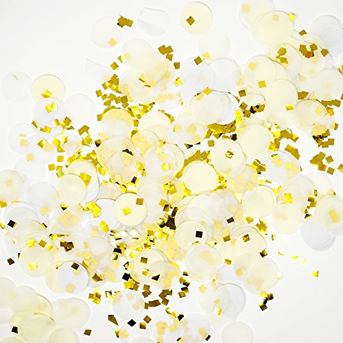 premium-1-inch-round-tissue-paper-party-table-confetti-50-grams-ivory-white-gold-mylar-flakes