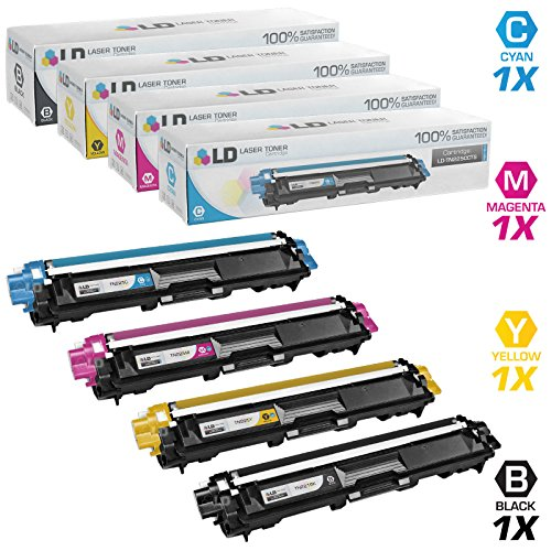 LD Brother Compatible TN221 & TN225 laser toner for use in the HL-3140CW. HL-3170CDW, MFC-9130CW, MFC-9330CDW