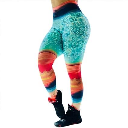 Leggings Deportes Pantalones para mujeres de color sólido de ...