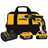 DEWALT DCF620M2 4.0AH 20-volt MAX XR Li-Ion Brushless Drywall ScrewGun For Sale