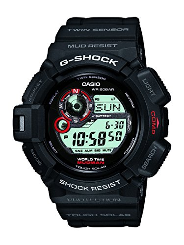 Casio G Shock Mudman Digital Dial Men's Watch - G9300-1 [Watch] Casio by Casio