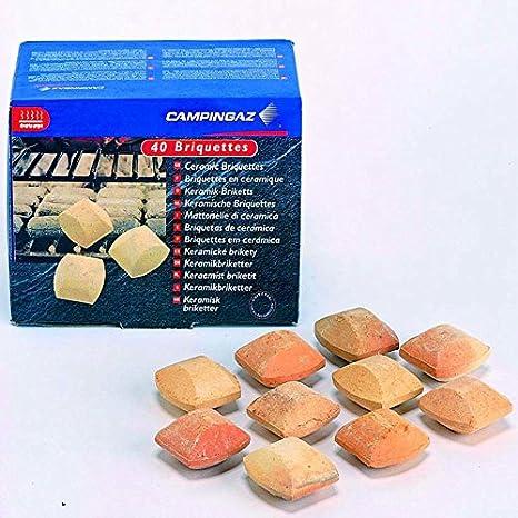 Campingaz briquetas de cerámica 40stk. Barbacoa piedras Gas ...