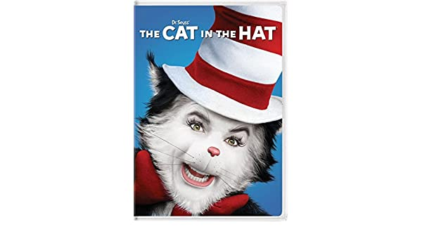 35998a55 Amazon.com: Dr. Seuss' The Cat in the Hat (New Artwork) by Mike Myers: Mike  Myers;Kelly Preston;Alec Baldwin;Dakota Fanning;Spencer Breslin, ...