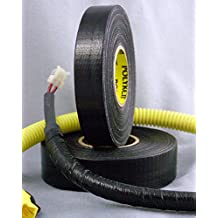 """Polyken Flame-Retardant Wire Harness Tape High Heat 125C OEM for Ford GM and Chrysler 3/4"""" x 100 feet Made in USA"""