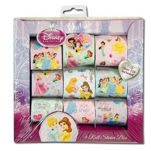 Princess stickers roll