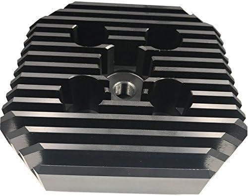 Gas Engine Motorized Racing Head Polygon Type for 2 Stroke Engine kit 66cc//80cc