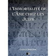 L'immortalité de l'âme chez les Juifs (French Edition)
