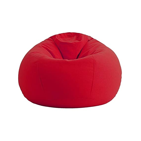 Amazon.com: Bean Bag Chair Single Sofa Foam Round Bean Bag Suitable for bedrooms and Balconies Medium (Color : A): Sports & Outdoors