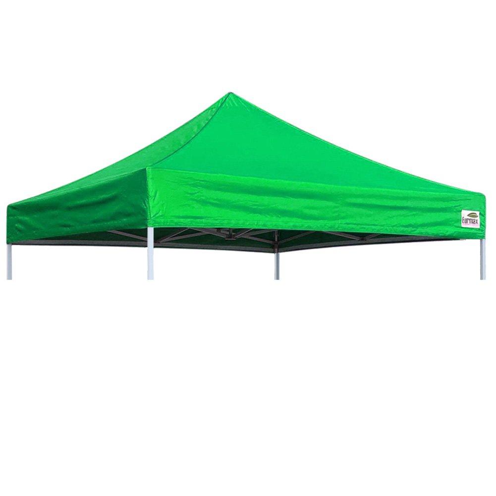 Pop UpキャノピーTop Gazeboテントカバー交換用上部のみ 10x10 400D canopy top-10x10 FeetKelly green B00F9M81G4 10x10|ケリーグリーン ケリーグリーン 10x10