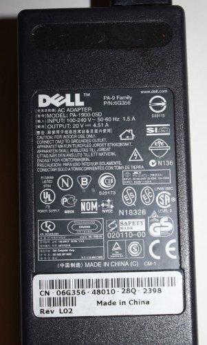 Genuine Dell original latitude PA-9 ac adapter PA-1900-05D 20V 4.51A (1900 Ac Adapter)
