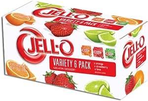 JELL-O Gelatin Variety Pack, 36 Ounce