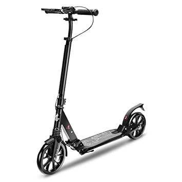 Amazon.com: ZAQ Foldable Adult Scooter with Hand Brake ...