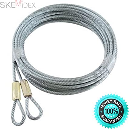 Amazon Skemidex Pair Of Garage Door Safety Cables For A 7 Or