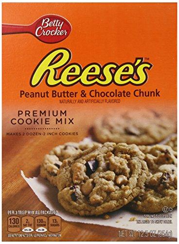 Betty Crocker Hershey's Cookie Mix Reese's Peanut Butter & Chocolate Chunk 12.5 oz Box