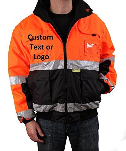 Safety Depot Customizable Reflective Reversible