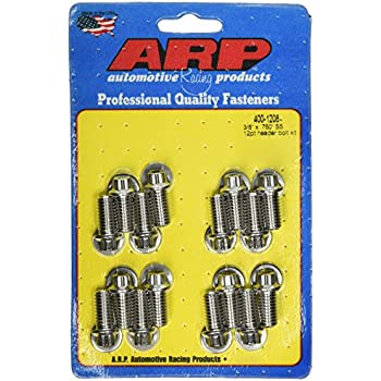 400-1101 ARP 3//8 x .750 SS hex header bolt kit