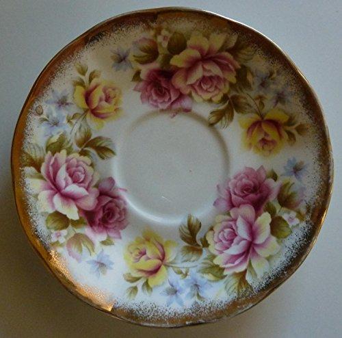 Elizabethan - Jacobean - Saucer - Fine Bone China