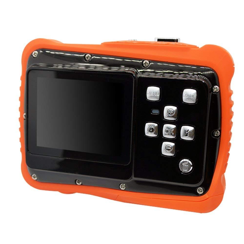 Erduo 2 Zoll 5 M 720 P Mini Kamera Digitalkamera für Kinder Baby Niedlichen Cartoon multifunktions Spielzeug Kamera Kinder Orange