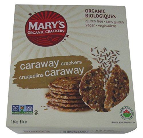 Mary's Gone Crackers Original Organic Seed Crackers - Caraway-6.5 - Seeds Caraway Rye Bread