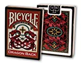 Bicycle Dragon Back Playing Cards Athletics, Exercise, Workout, Sport, Fitness