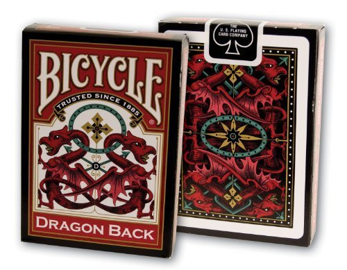 Bicycle Dragon Back Playing Cards Athletics, Exercise, Workout, Sport, Fitness by Athletics & Exercise