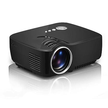 Proyector casero 1080p HD Mini Pico Proyector Altavoz Incorporado ...