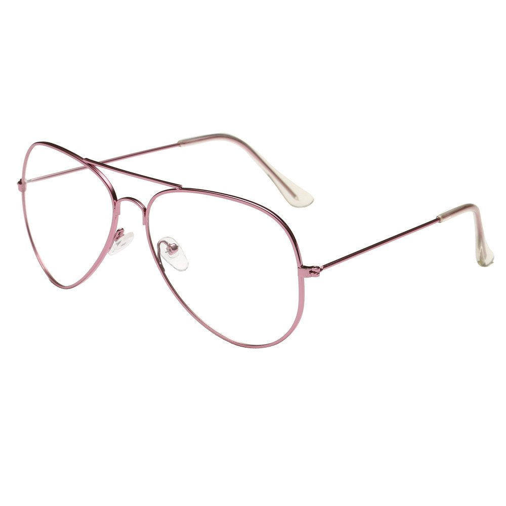 Inverlee Sunglasses Men Women Clear Lens Glasses Metal ...