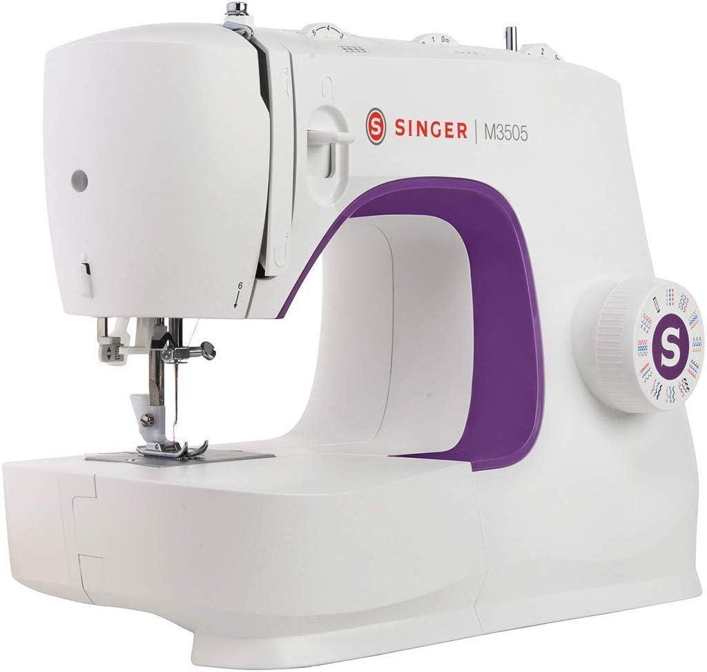 Singer M3505 - Máquina de Coser Portatil, Nuevo Modelo 2020, 34 Puntadas de Costura, útiles, elásticas, decorativas, Automática, Fácil de Usar: Amazon.es: Hogar