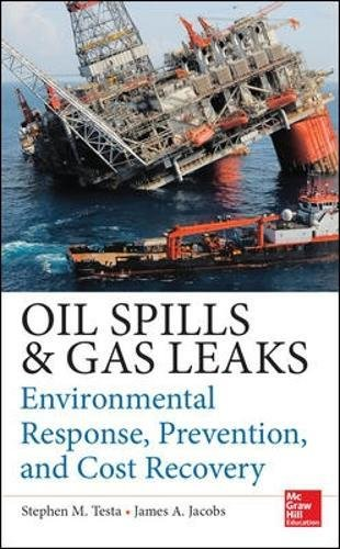 Oil Spills and Gas Leaks: Environmental Response, Prevention and Cost Recovery (Oil Spill Response)