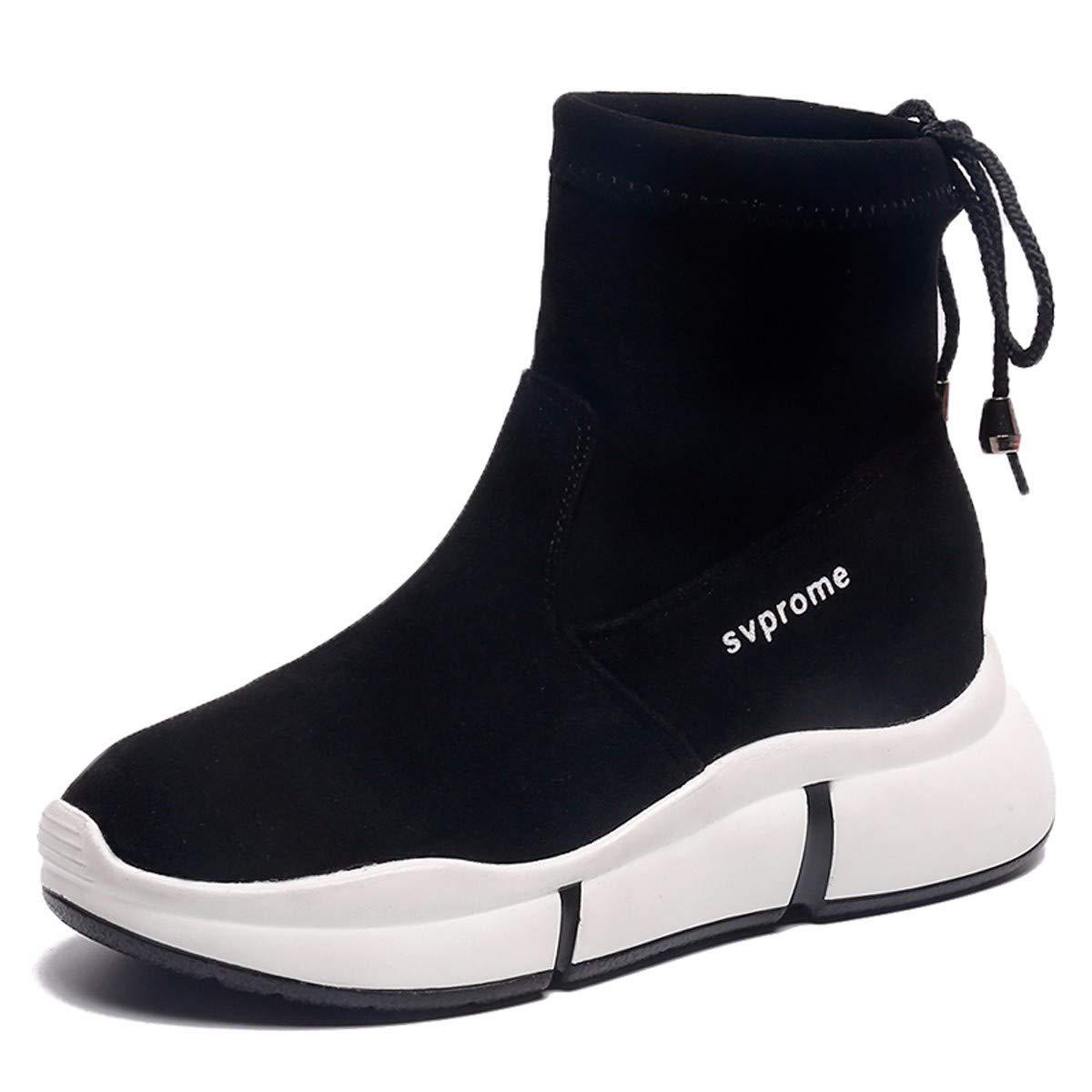 KPHY Damenschuhe/Herbst Kurze Stiefel Martin Stiefel Flachen Boden Stiefeln Student Damenschuhe Anti - Rutsch - Single - Stiefel.