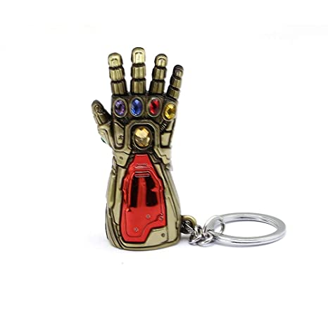 Amazon.com: New Avengers Iron Man Glove Keychain Ironman ...