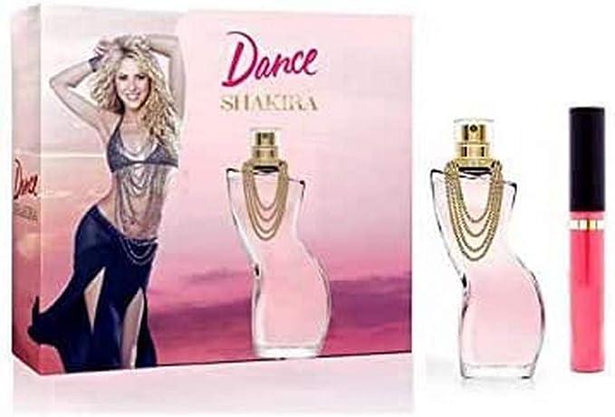 Shakira Dance - Estuche de Regalo con Agua de Tocador y Brillo de Labios, 50 + 3 ml: Amazon.es: Belleza