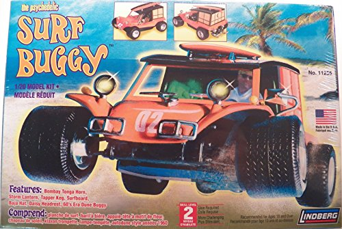 Surf Buggy (The Psychedelic Surf Buggy 1/20 Scale Model Kit No. 11255 by LINDBERG)