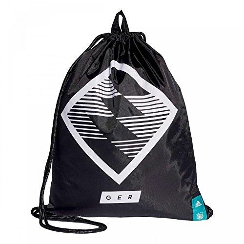 adidas DFB Turnbeutel GYMBAG GR black/white