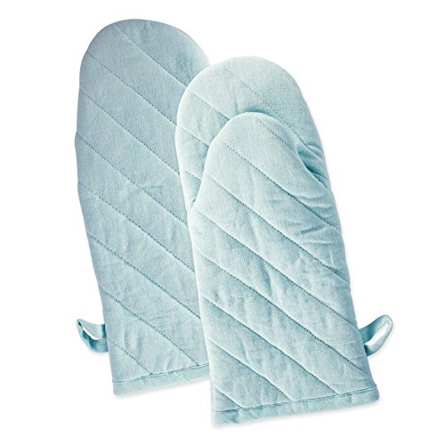 DII Chambray Washable Resistant Baking Aqua