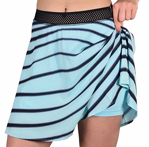 Nike Women's Dri-fit Premier Maria Sharapova Tennis Skirt (L, Ice Blue)