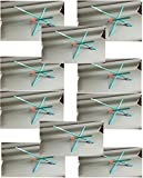 Ice Fishing Tip-ups 10 Pack Hi-flag ''Senior'' with Line
