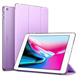 ESR iPad 2017 iPad 9.7-inch Case, Lightweight Smart Case Trifold Stand with Auto Sleep/Wake Function, Microfiber Lining, Hard Back Cover for the Apple iPad 9.7-inch,Fragrant Lavender