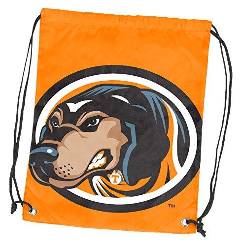 Logo Brands NCAA Tennessee Volunteers Adult Double Header String Pack, Tangerine