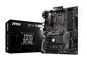 MSI Pro Series Intel Coffee Lake LGA 1151 VR Ready 64GB DDR4 CFX ATX Motherboard (Z370 PC PRO)