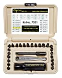 Chapman MFG #7331DT Hand tools Screwdriver Set Std & Metric Allen Hex Set MADE IN USA