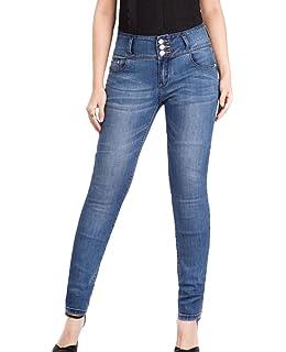 90b1dc3511bdda YuanDian Damen Herbst Lässige Große Größen Slim Fit Bleistift Knöchel Jeans  Skinny Stretch Frauen Vorher Knopf