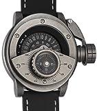 Retrowerk Diver watch with compass-Swiss-Ronda movement R-004