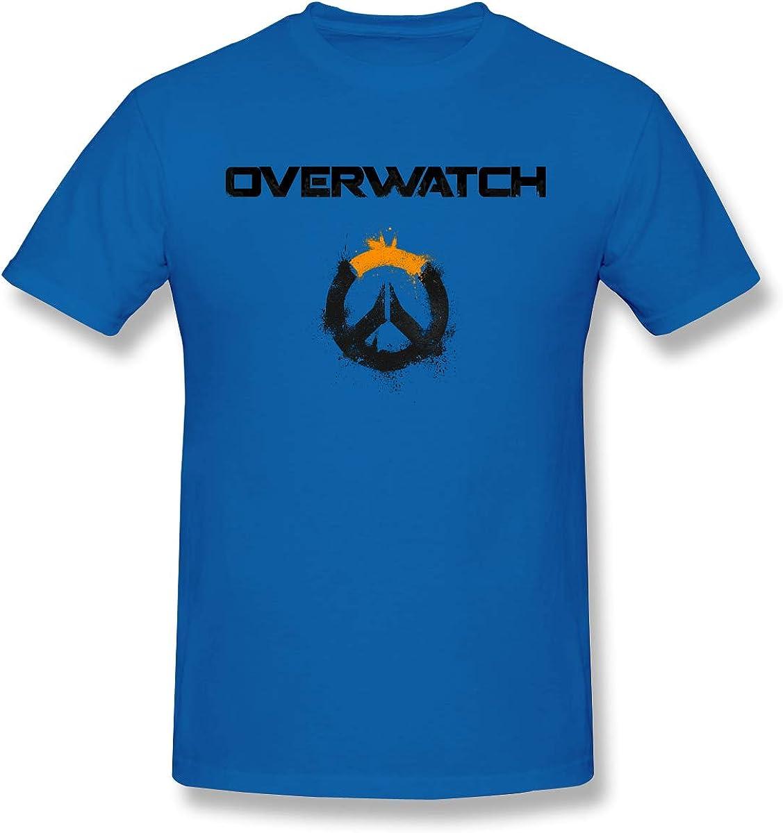 Overwatch Logo Art Graphic T-Shirt (White)