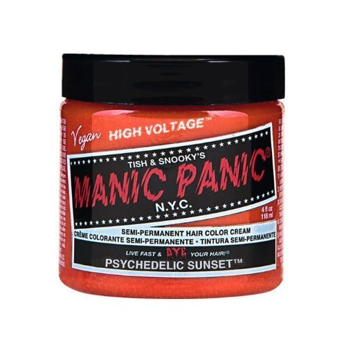 Manic Panic Semi-Permanent Color Cream Psychedelic Sunset