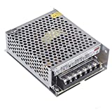 voltage converter - TOOGOO (R) AC 100V ~ 240V to DC 24V 5A 120W voltage converter switch power supply for LED strip