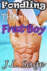 Fondling the Frat Boy (Shifter First Time Exhibition Erotic Romance)