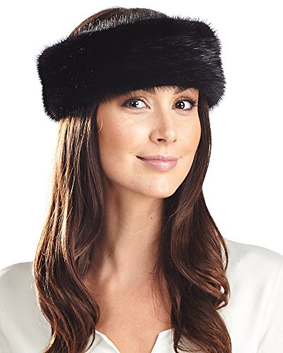 Frr Black Mink Headband by Frr