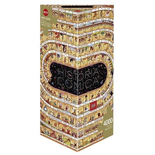 Heye Heye-29341 - Puzzle Classique - Historia Comica Opus 1 - Degano - 4000 Pièces